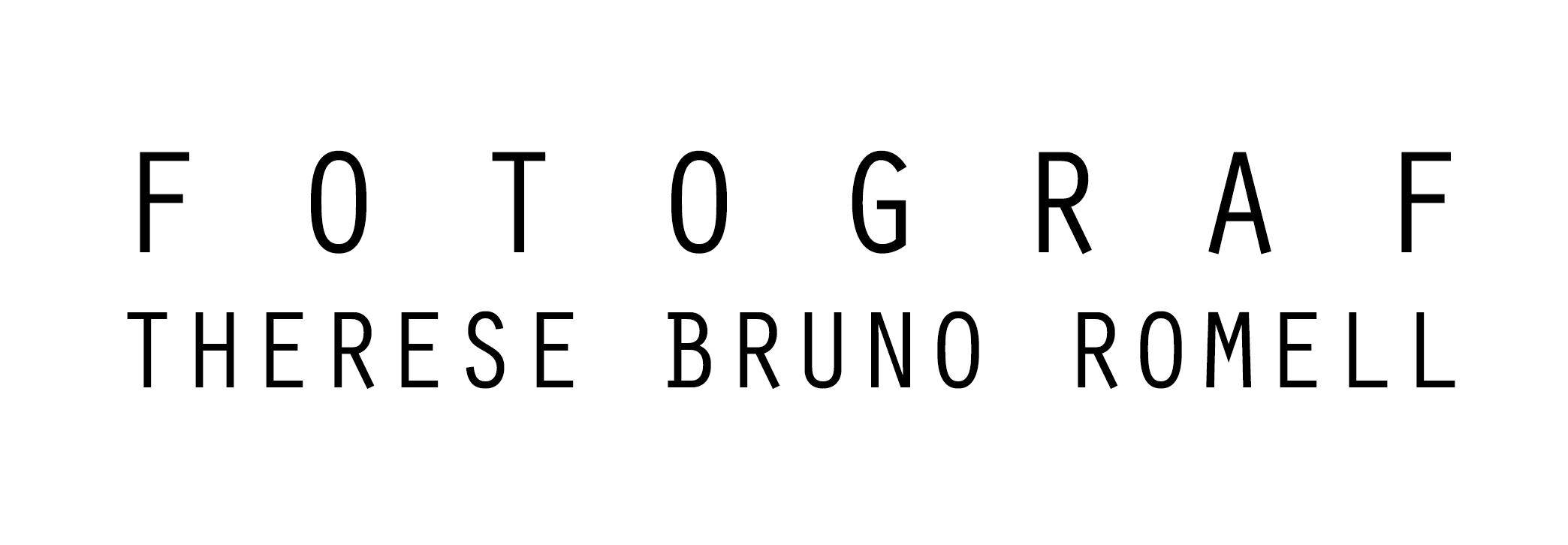 FOTOGRAF OCH INREDARE | Therese Bruno Romell logo
